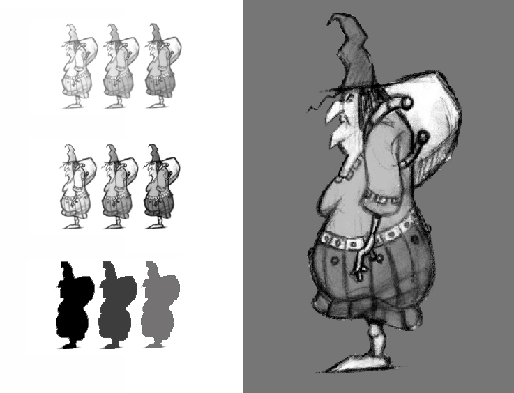 Character Design Master Class : The art of animationgirl character development for