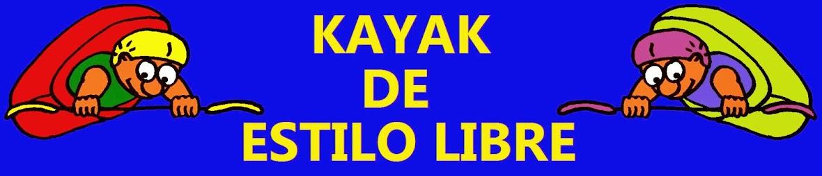 KAYAK DE ESTILO LIBRE. Libro-manual de piragüismo de rodeo, freestyle o estilo libre.