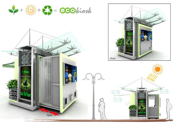 Plantamer Kiosco Ecol 243 Gico