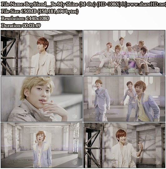 Download PV Boyfriend - Be My Shine (M-On Full HD 1080i)