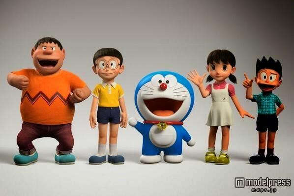 Doraemonians Blog Doraemon 3D Stand By Me Doraemon