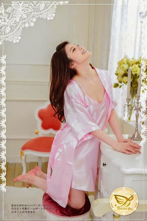 Kimono Dress SL909 Soft Pink