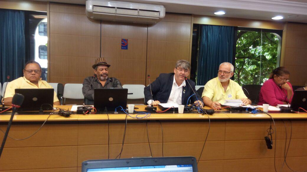 Coordenação Nacional de Plenárias no CNS