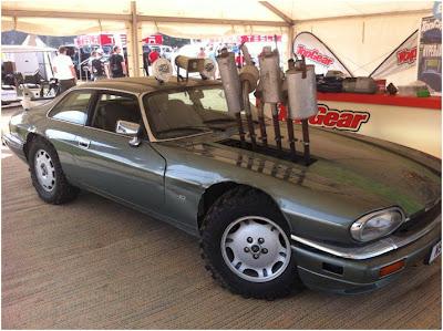 Top Gear Custom XJS at Goodwood FoS 2013
