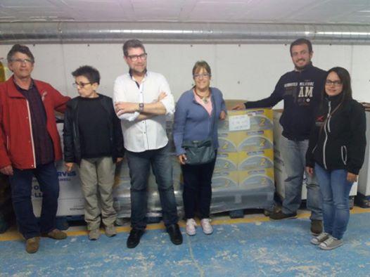 Premi Solidari Gallina Blanca BC2016 Xicots de Vilafranca cedit al Rebost Solidari de Vilafranca