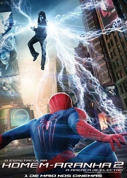 O Espetacular Homem-Aranha 2 - A Ameaça de Electro BluRay Filmes Torrent Download capa