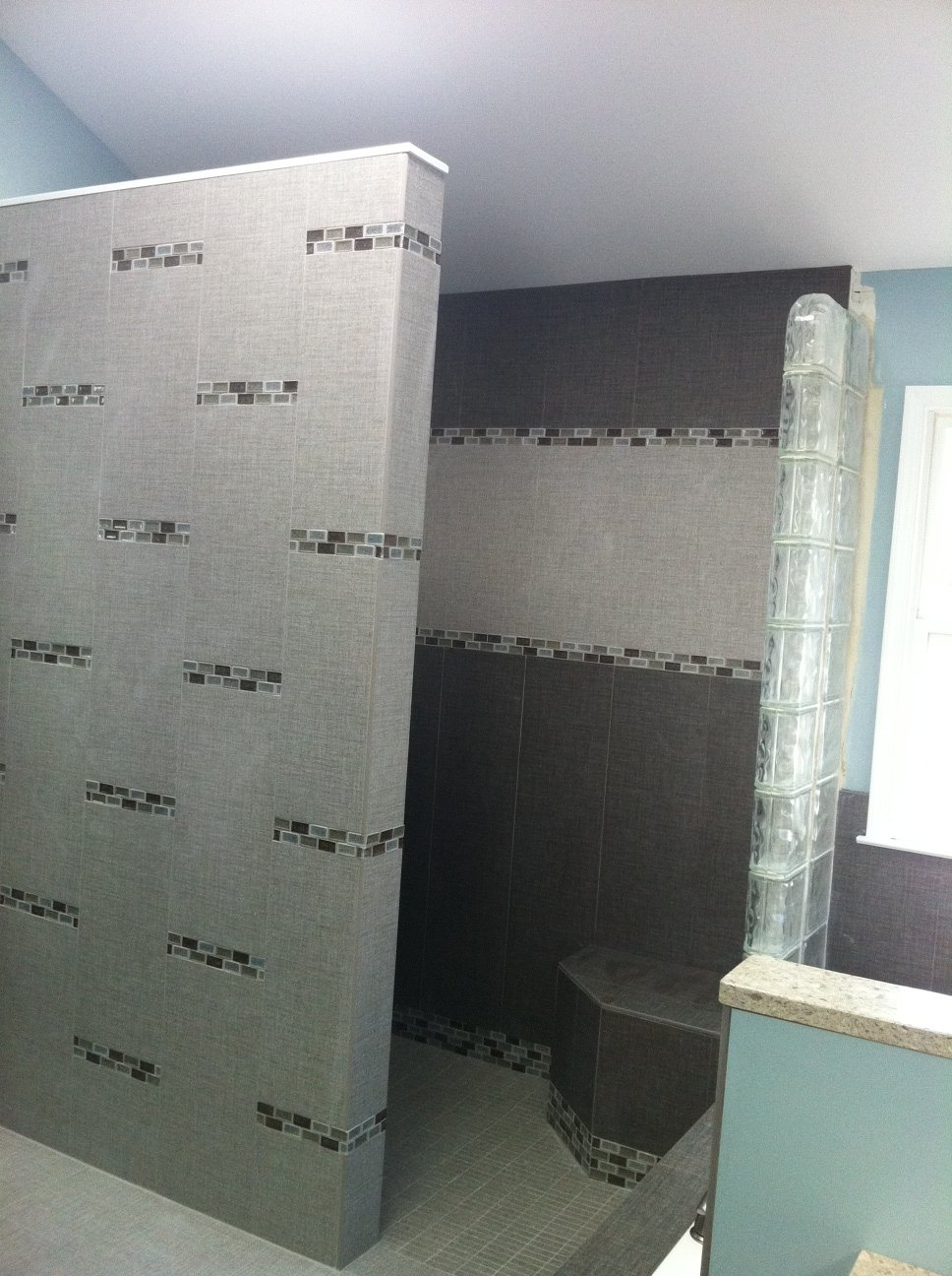 H.Winter Showroom Blog: Mind-blowing Master Bathroom Shower Tile