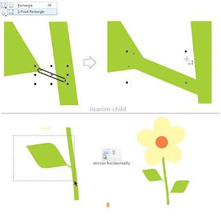 3-point rectangle tool coreldraw