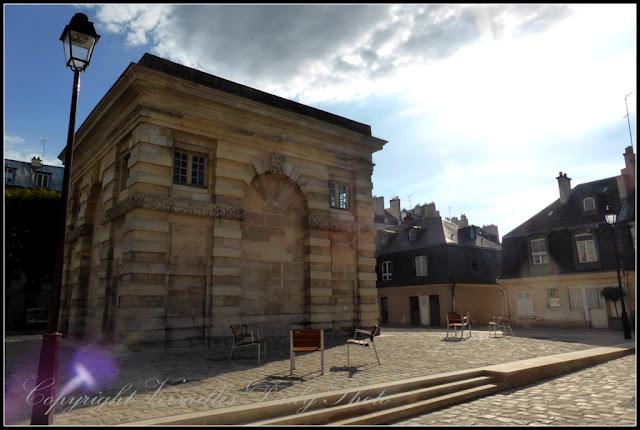 Carré à la fontaine Versailles