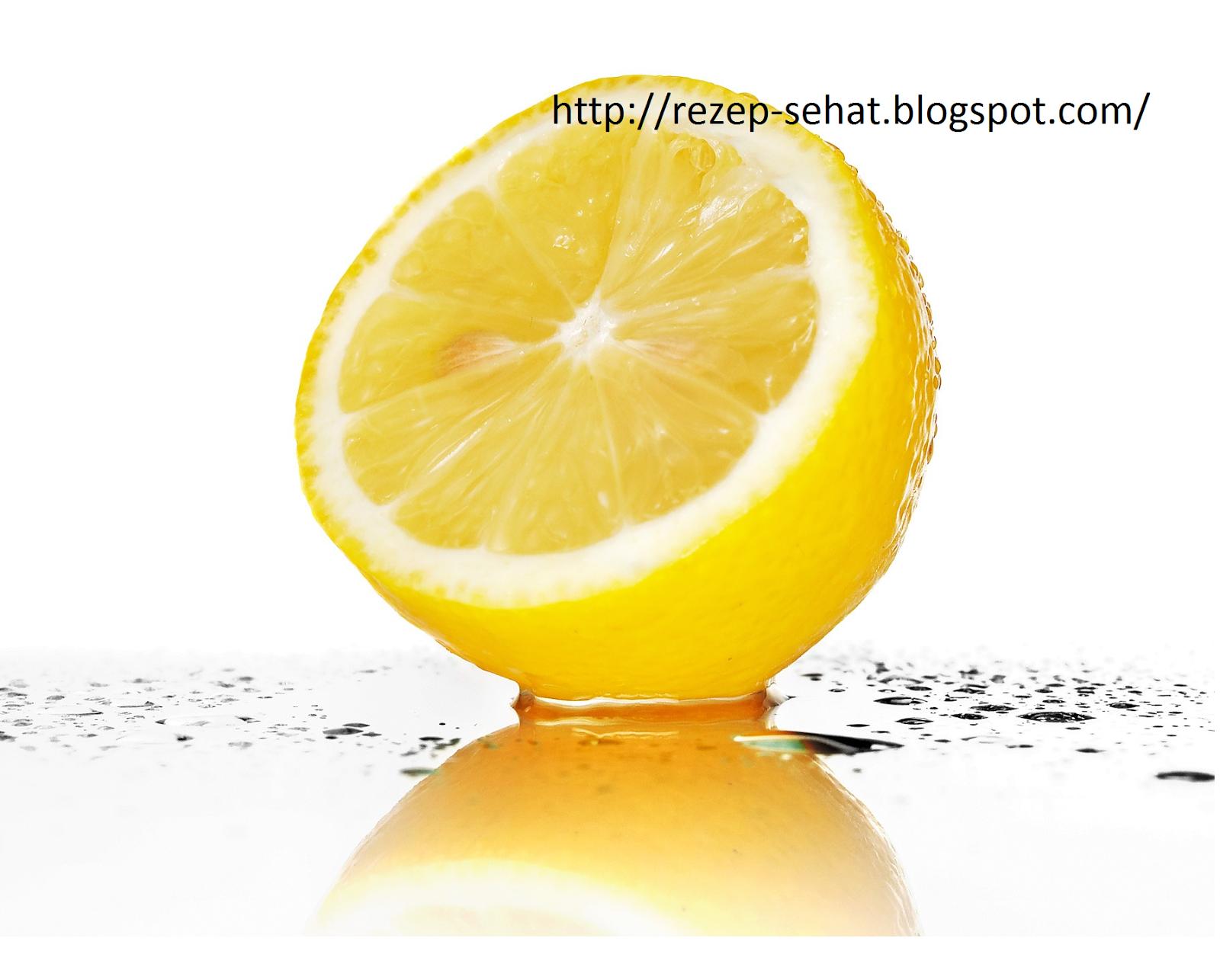 Lemon, Bahan alami untuk memutihkan kulit