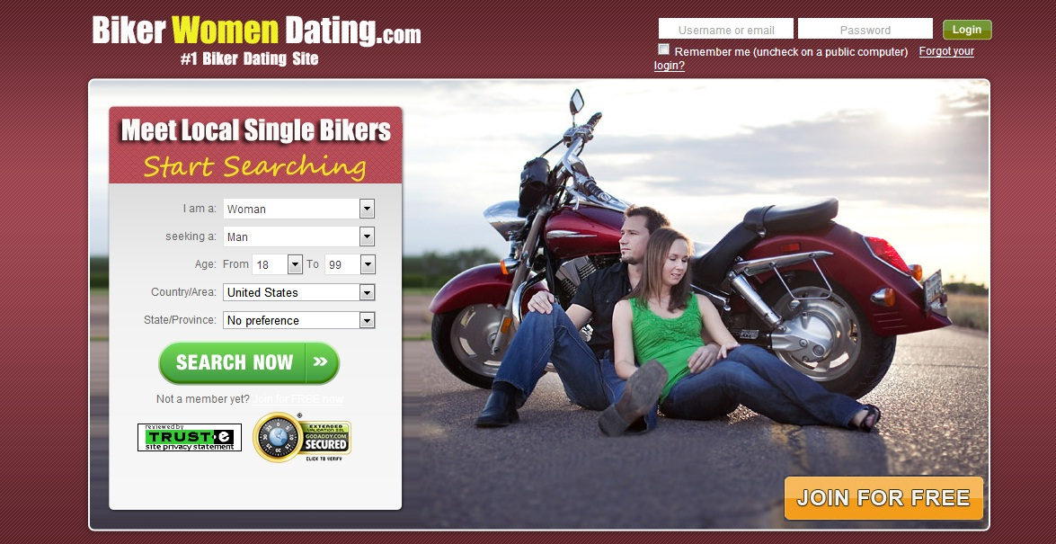 Free hookup sites to meet bikers
