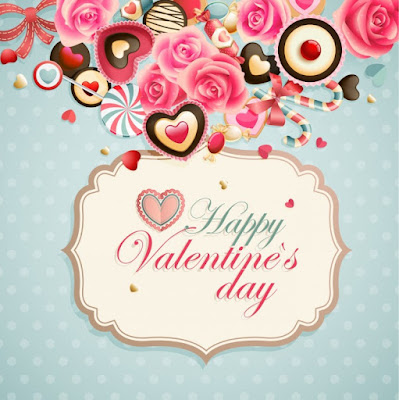 Happy Valentines Day Love Greetings For Him and Her / Husband and Wife