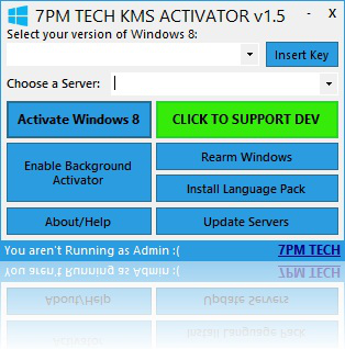 windows 8 kms activator features serial key insertion kms server