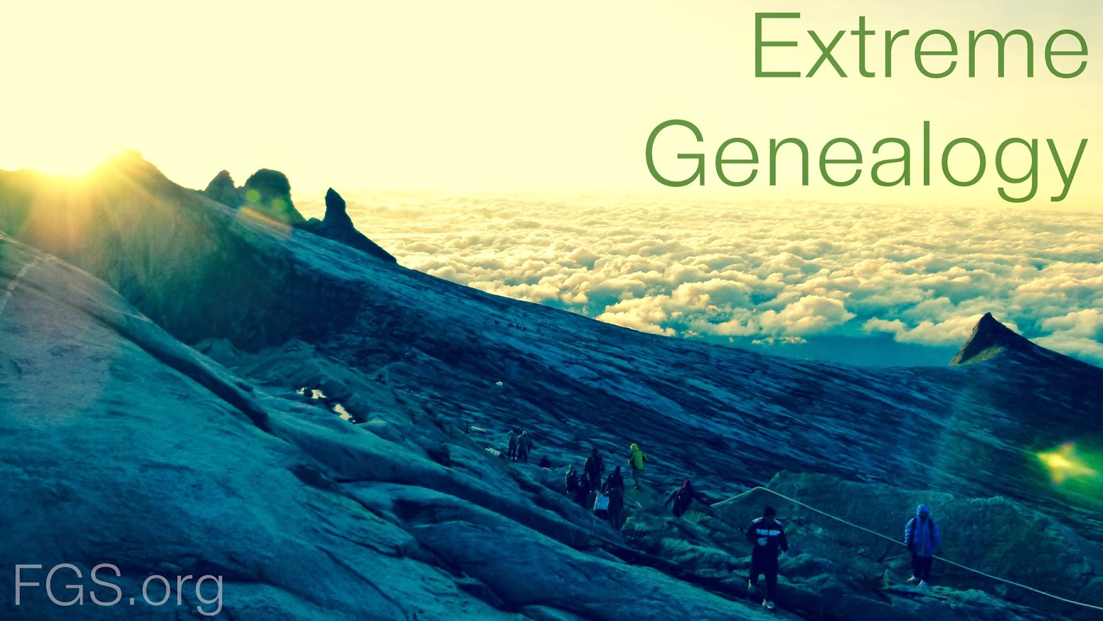 Extreme Genealogy (Or Why You Should Belong To At Least One Genealogy Society) via FGS.org #genealogy #GenSocs #familyhistory