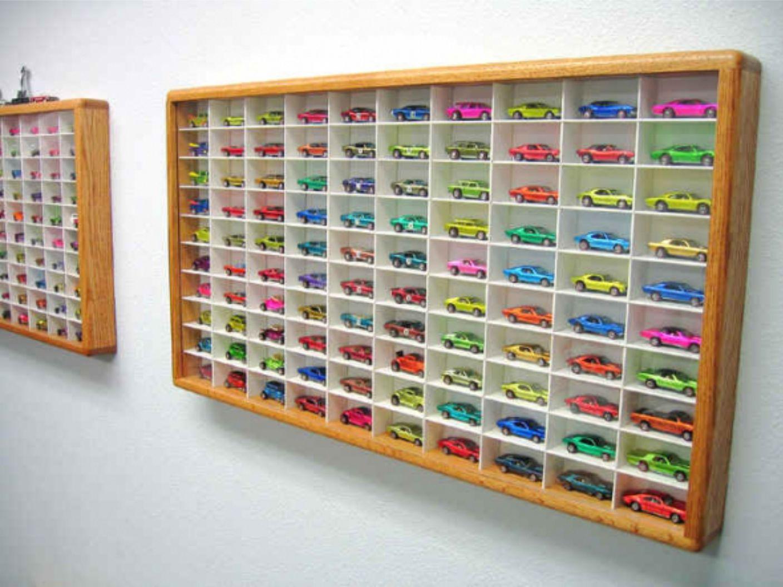 Toy Cars Holder Shelf : Nestling hot wheels storage