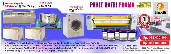 Paket Laundry Hotel Ekonomis