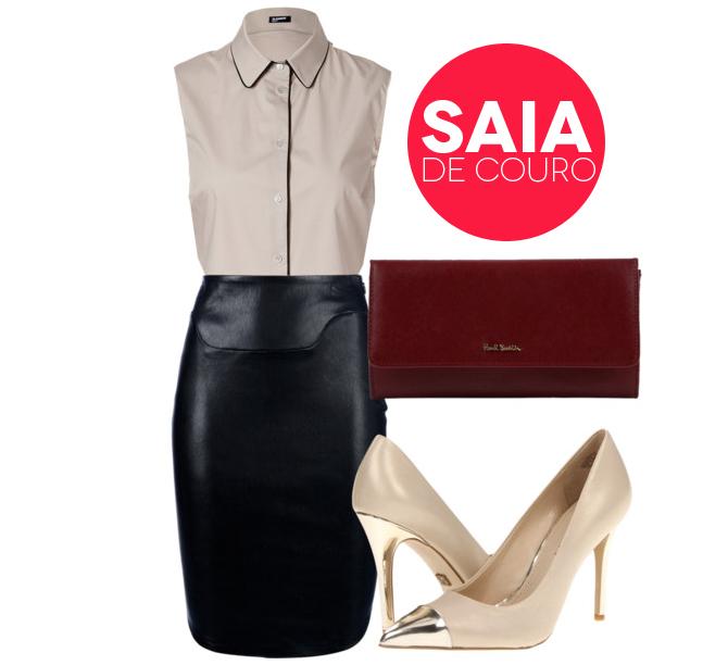 blog de moda brasilia saia de couro
