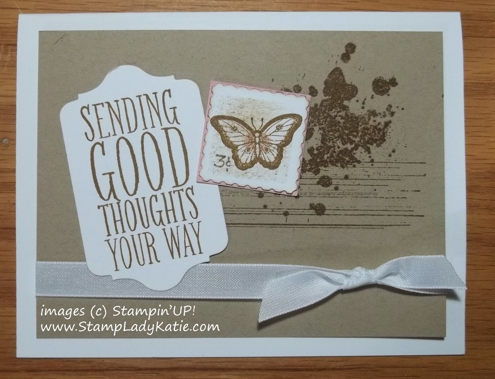 Faux Postage Stamp Technique with the Papillon Potpourri Stamp Set