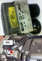 SISTEMAS DE FRENO SBC (Sensitronic brake control) en Blogmecanicos
