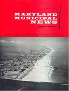 For articles on Westminster Maryland Online about the MML  Maryland Municipal League