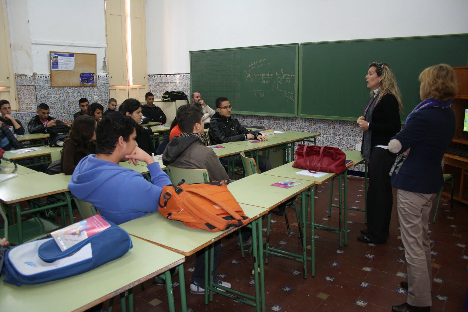 Ie melchor de jovellanos alhucemas aaee sesi n for Educacion exterior marruecos