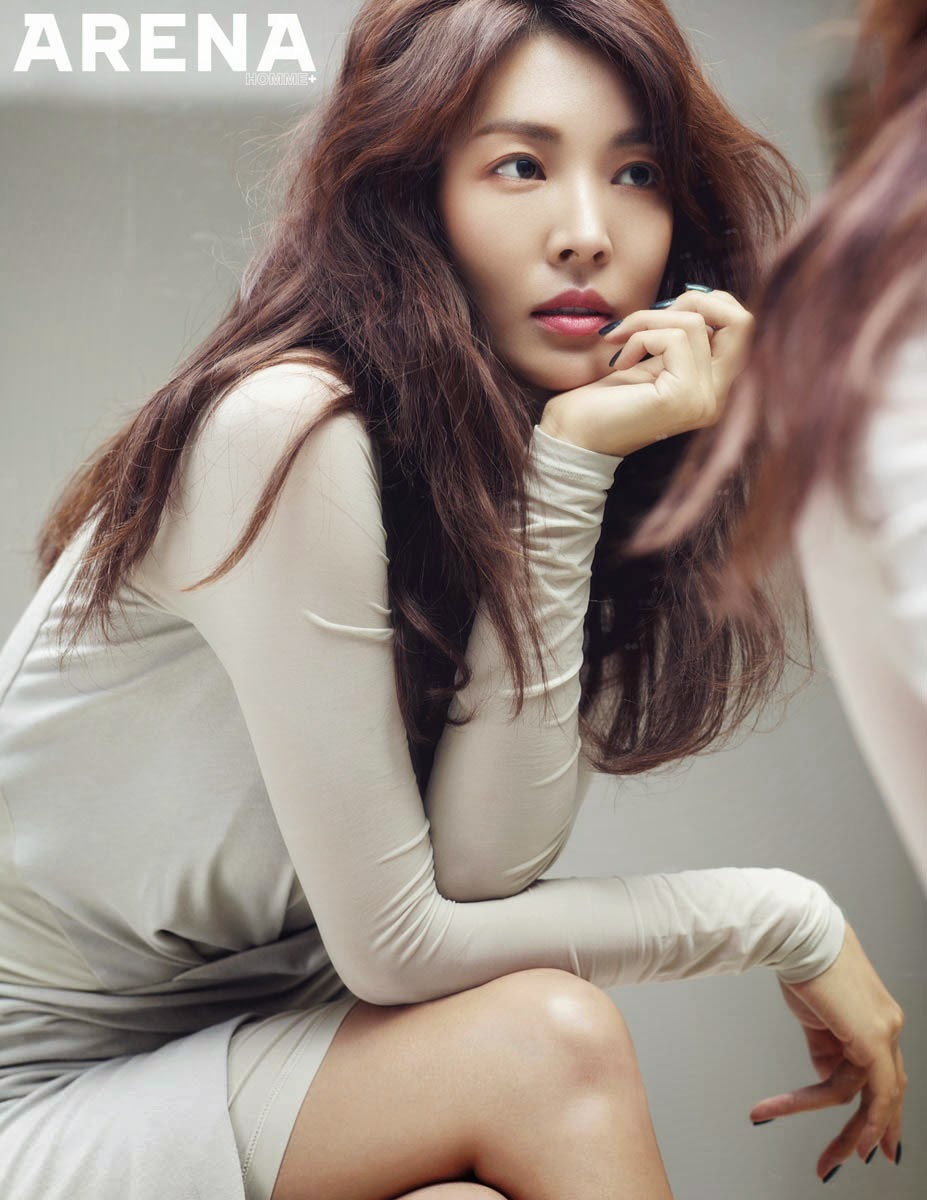 Kim So Yeon Arena Homme Plus November 2014