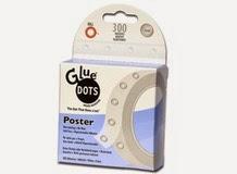 Клеевые точки многократного использования POSTER, Glue Dots, арт.RTDEPOST300 (002037)