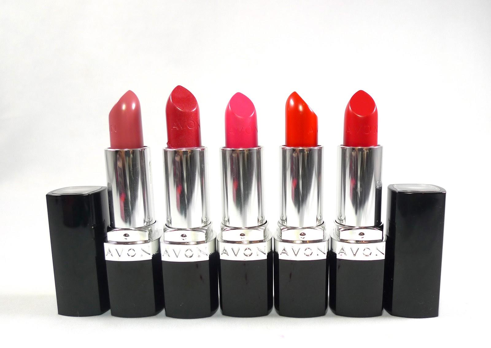 Review: Avon Ultra Color Lipsticks
