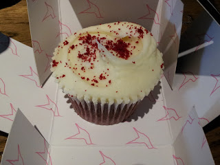 Cupcake Red Velvet - Hummingbird Bakery