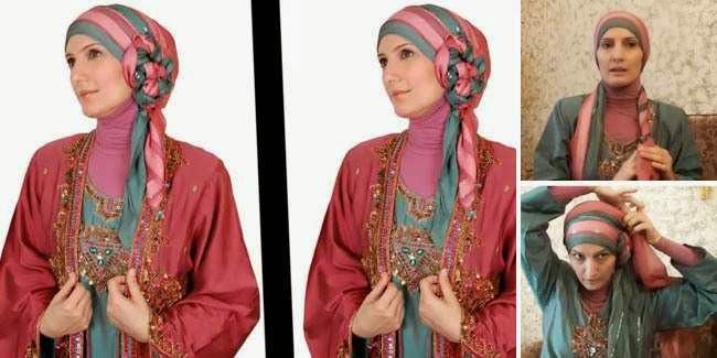 Model Hijab untuk Pesta Perkawinan