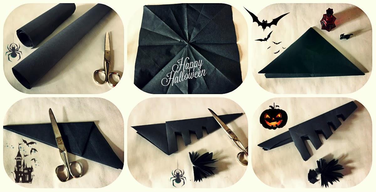Diy dia de todos los santos halloween nika vintage - Como hacer tela de arana ...