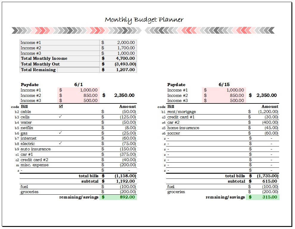 bill budget planner muco tadkanews co