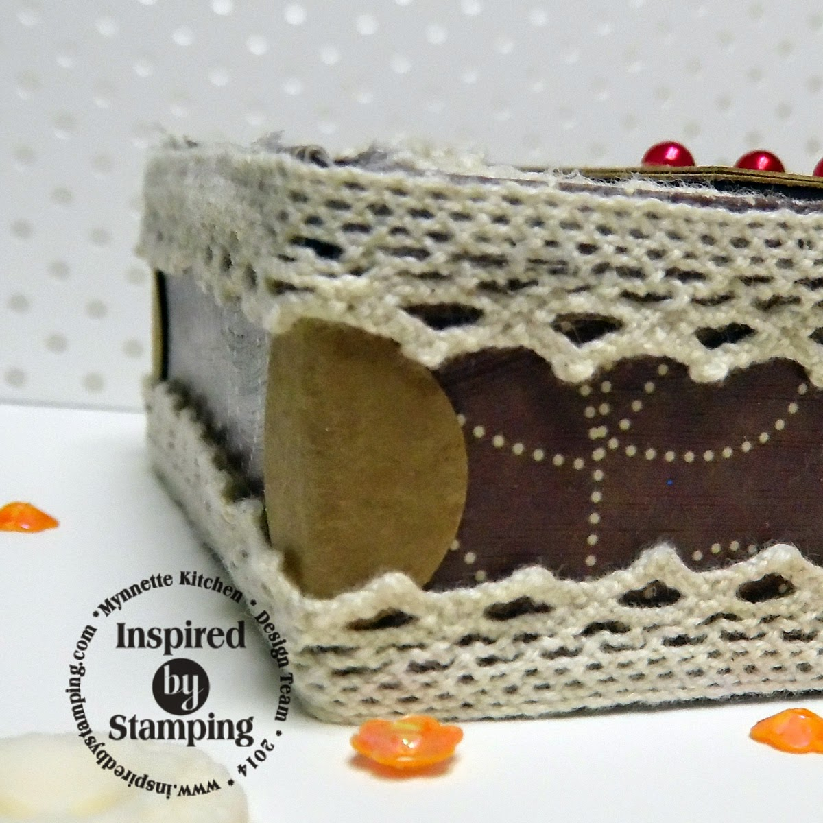 Inspired by Stamping, Mynnette Kitchen, Autumn Blessings stamp set, gift box, Autumn box