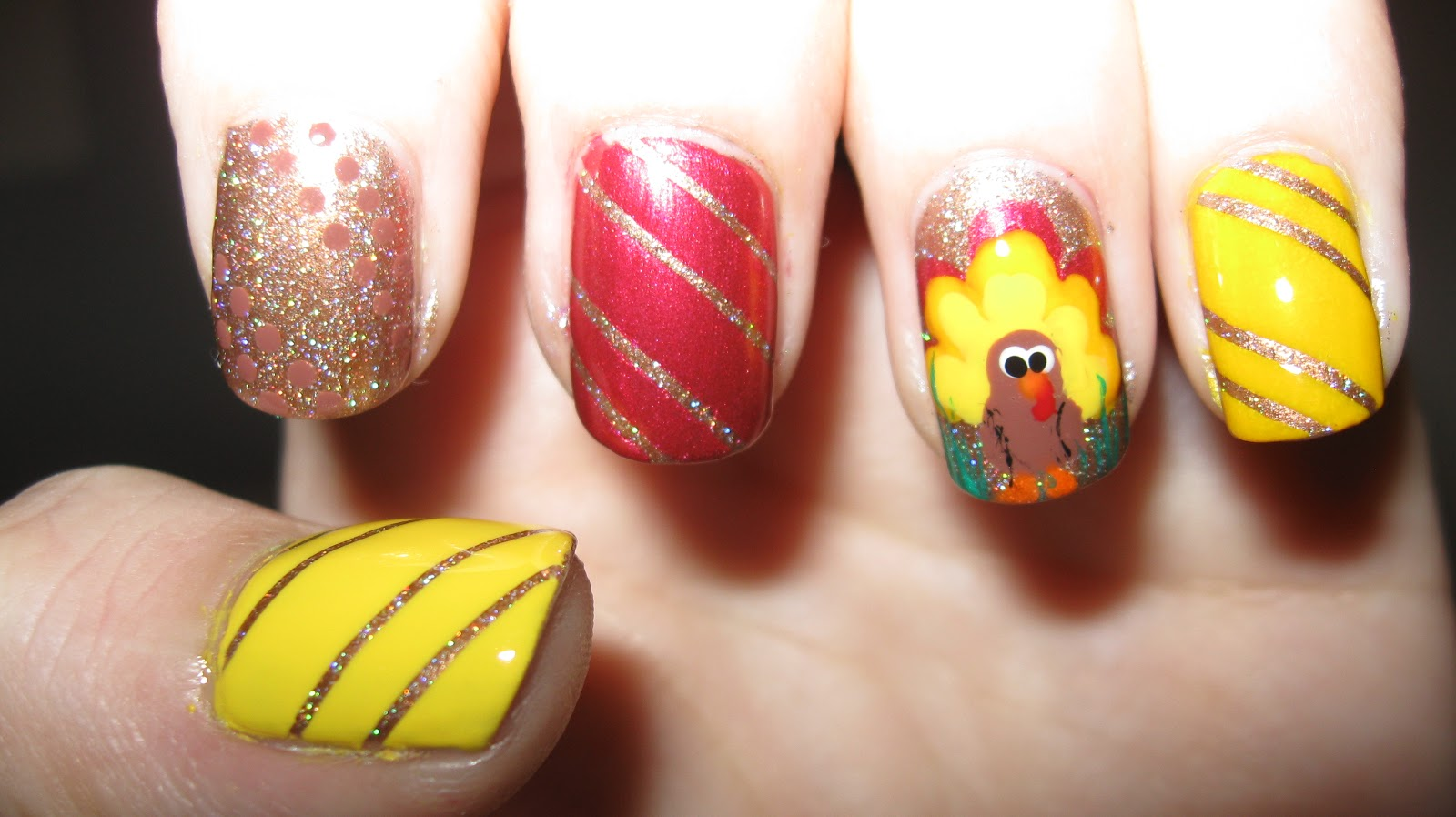 Fanning the Fumes - A Nail Art Blog: Happy Thanksgiving!