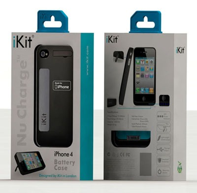 iKit NuCharge Battery Case Picture