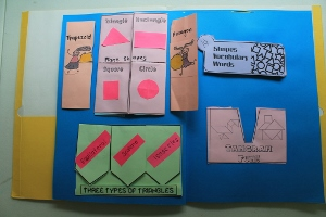 Shape lapbook