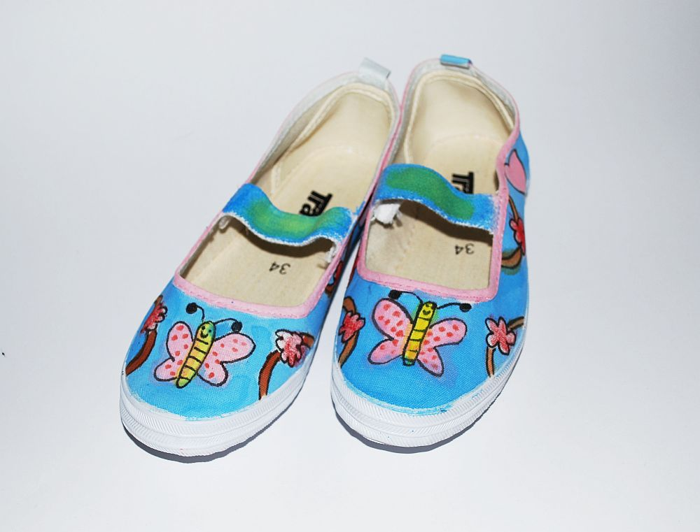 canvas shoes designs