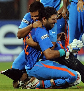 ICC Cricket World Cup 2o11 India Won Wallpaper