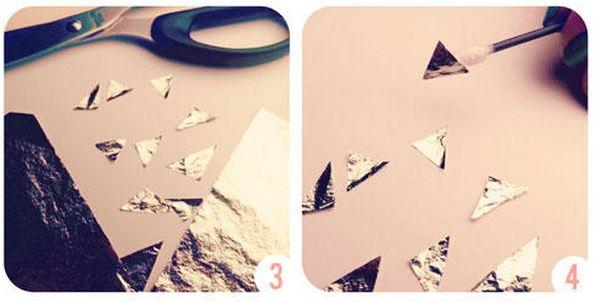 Unhas com papel alumínio como fazer