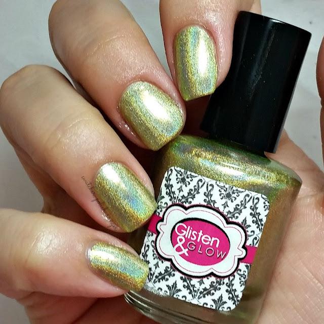 swatcher, polish-ranger | Glisten & Glow Midori Sour swatch