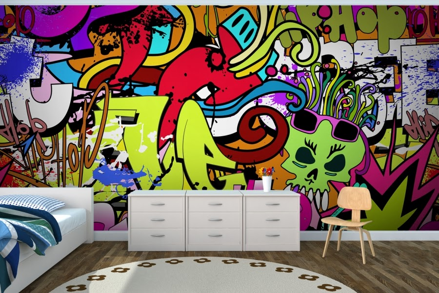 palm tree beach wall murals funkthishouse com funk