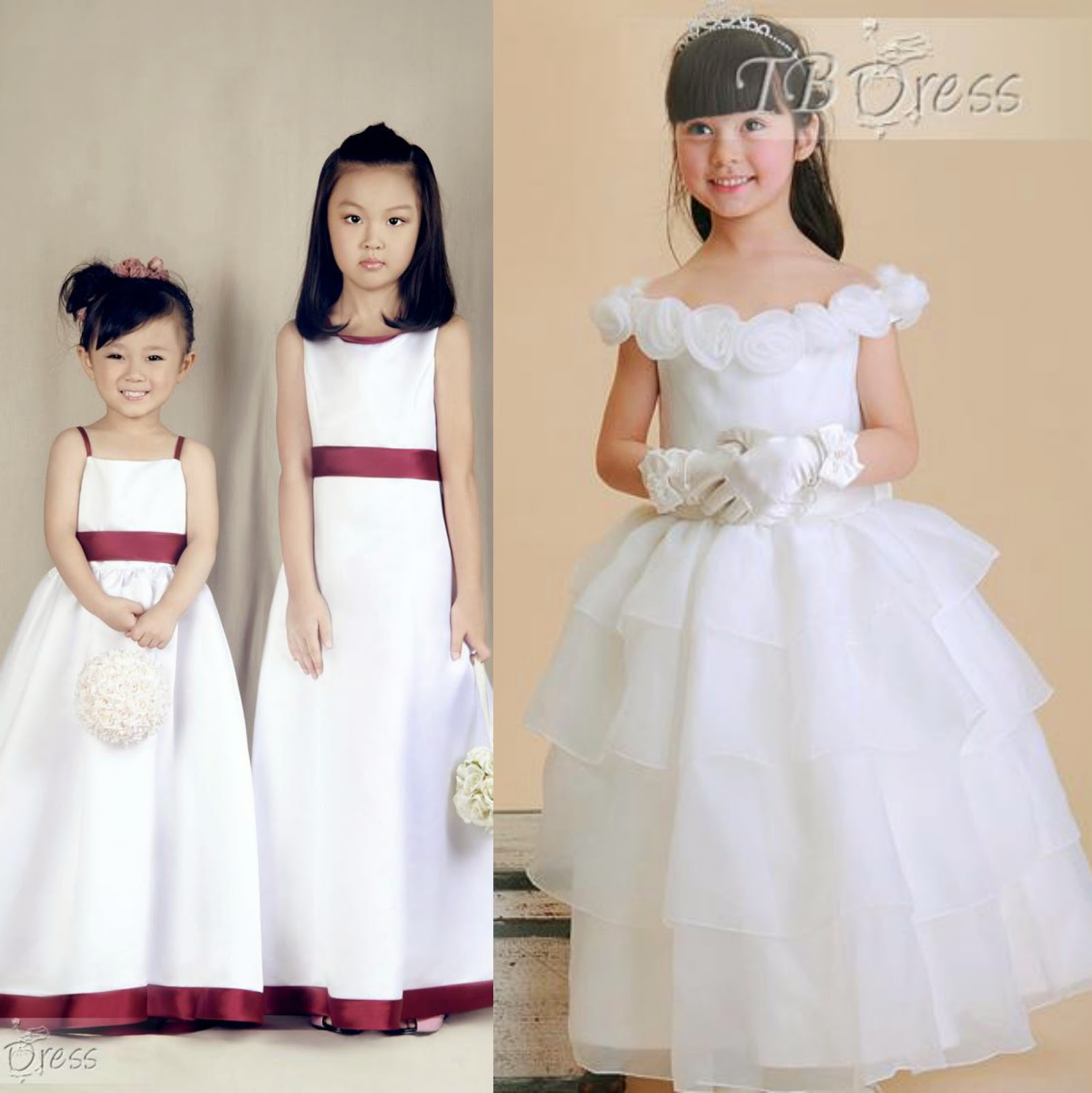 Inexpensive flower girl dresses LA BOHÈME