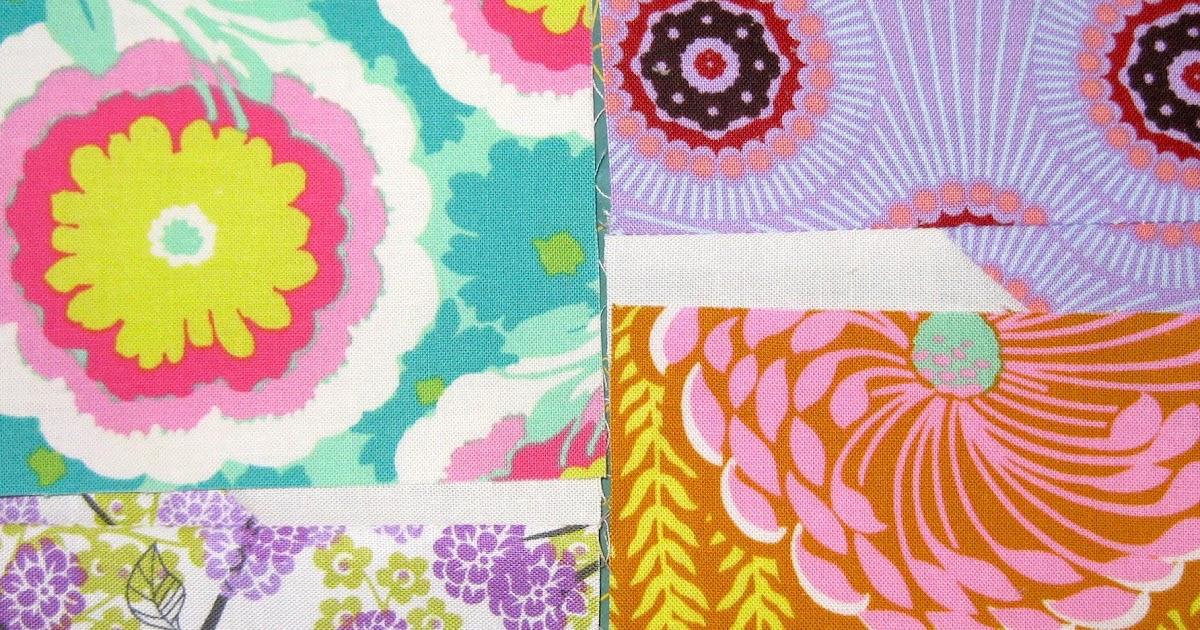 pieceful life: bow tie quilt block tutorial