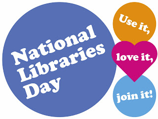National Libraries Day - use it, love it, join it!
