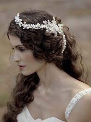 Peinados novias 2014