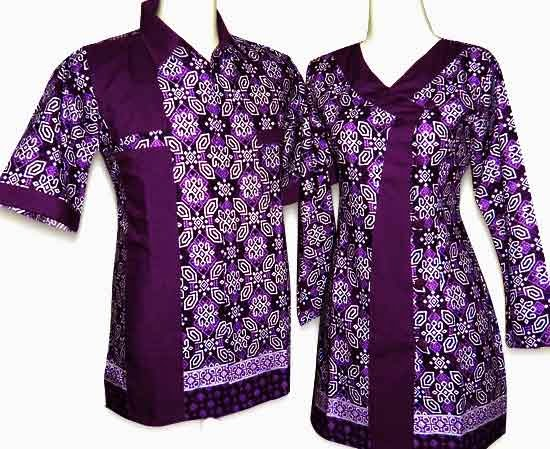 Model baju batik kerja kantoran untuk wanita
