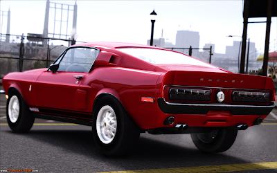 Shelby Mustang GT500KR 1968 Para GTA IV