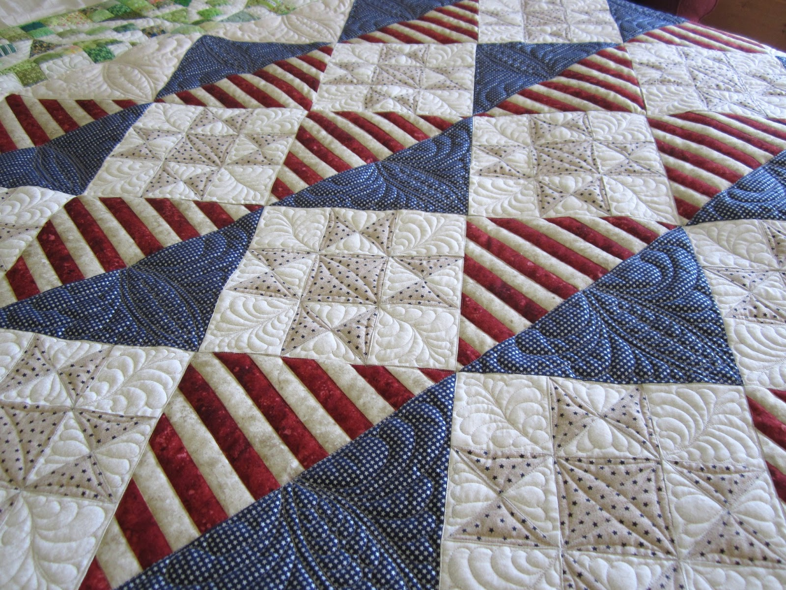 Quilt Patterns For Quilts Of Valor : Sue Daurio s Quilting Adventures: Plaid Obsession and QOV