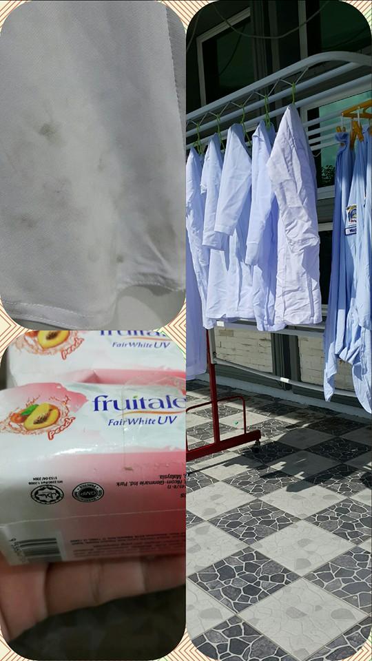 Bersihkan Baju Putih Pakai Sabun Friutale