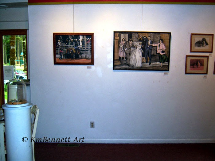 Painting: Wedding Party 01 gallery 2